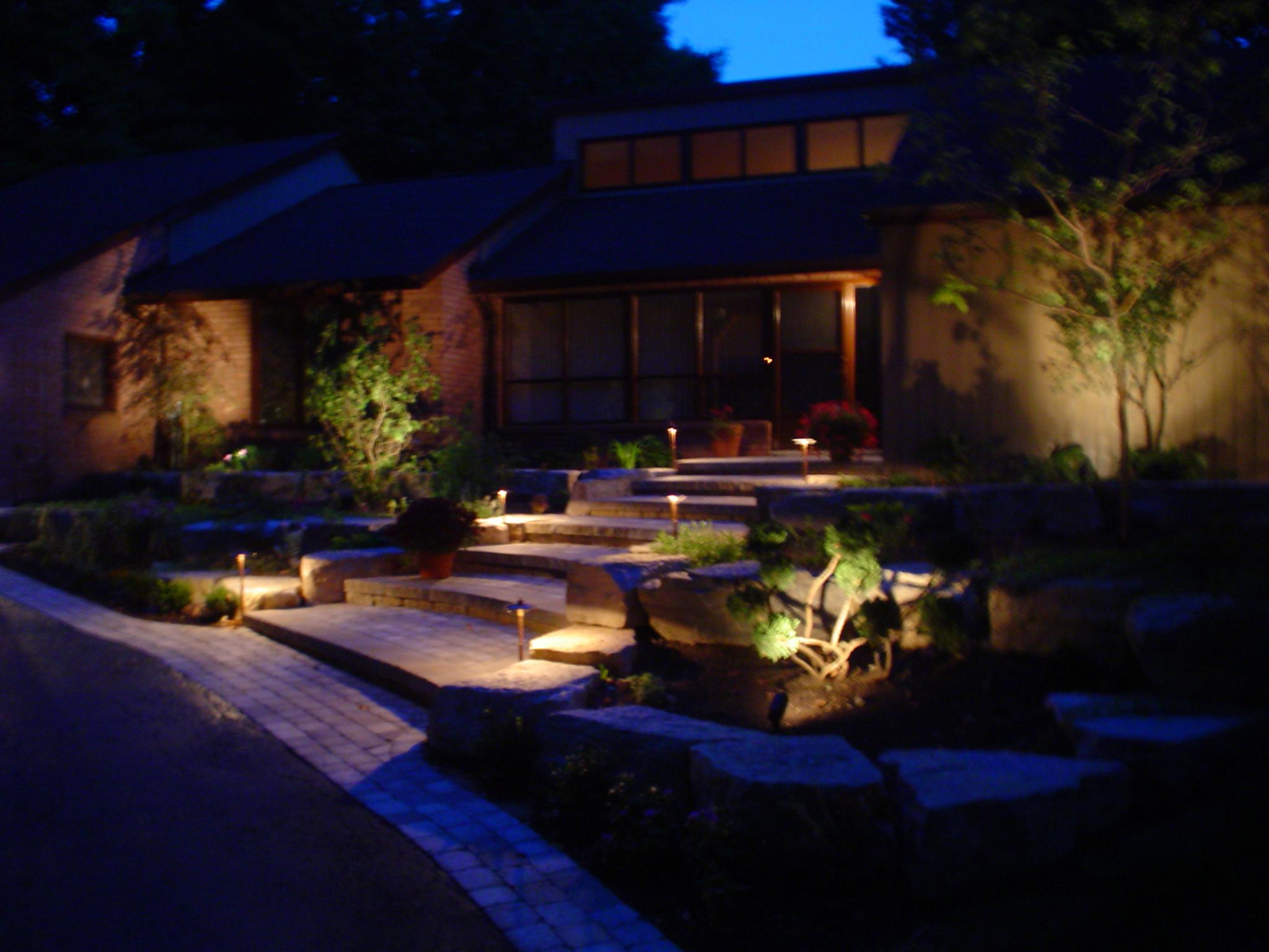 Outdoor Lighting – EvoPavers